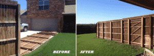 Fence panels fence repair in Frisco, Tx